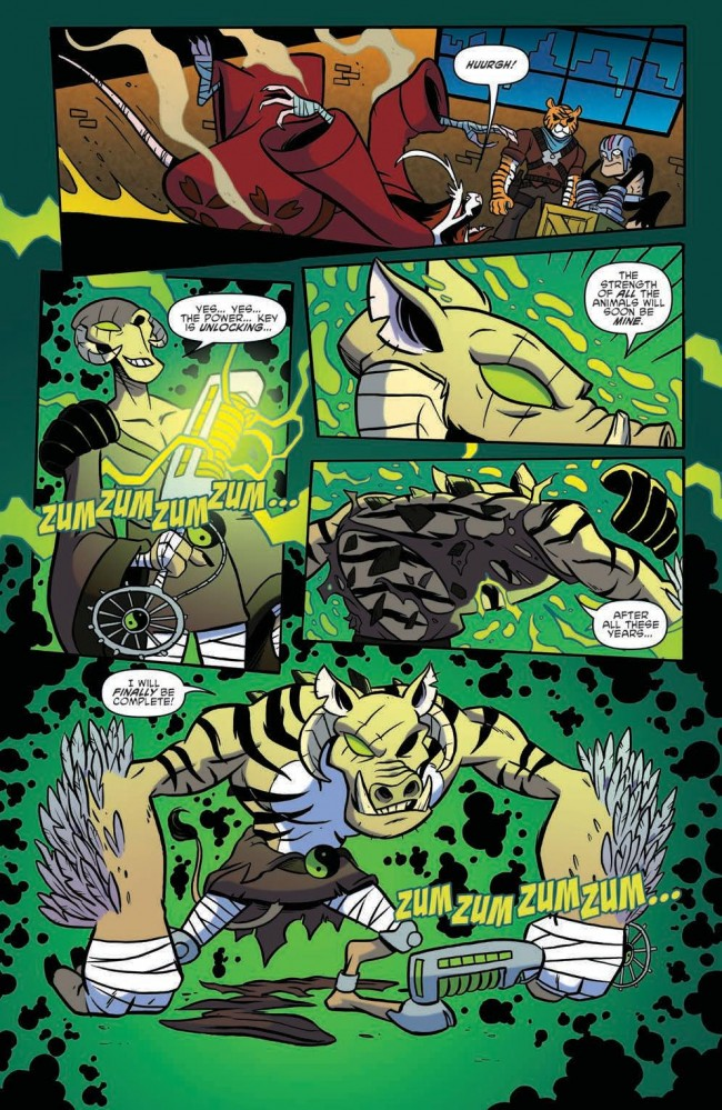 TMNT AA #2 Preview Page