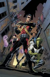 Teen Titans #15 Cover