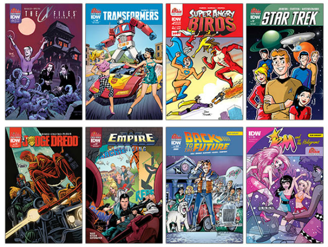 IDW Archie Variant Covers