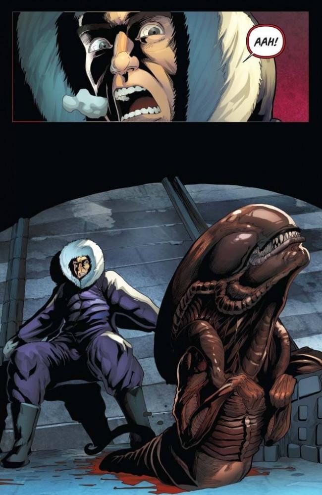 Aliens / Vampirella #2 Preview Page