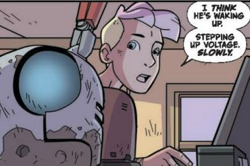 Atomic Robo: The Ring of Fire #2 Preview Page