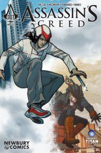 Newbury Comics Variant by Elena Casagrande