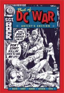 The Best of DC War Artist's Edition HC