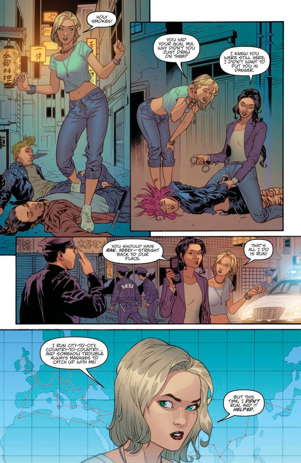 Danger Girl: Renegade #2 Preview Page