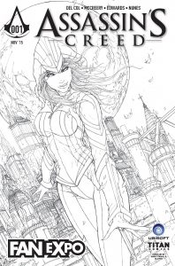 Fan Expo Black & White Variant by Jamie Tyndall