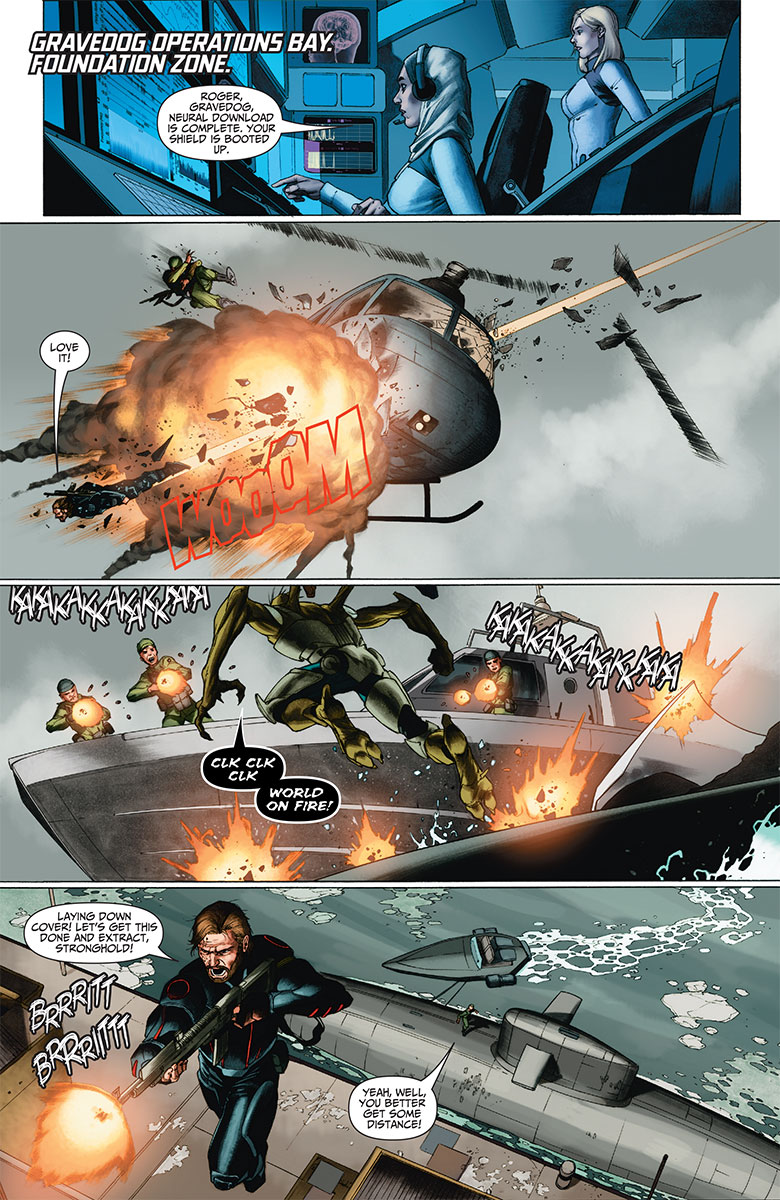 Imperium #9 Preview Page