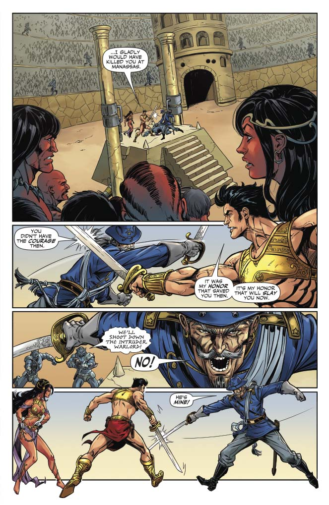 John Carter Warlord of Mars Preview Page