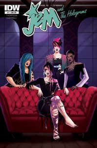 Jem and the Holograms #11 Subscription Variant Cover