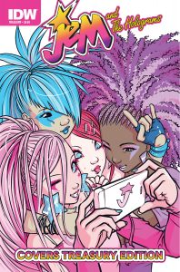 Jem and the Holograms Covers Treasury Edition