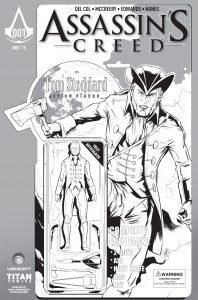 Larry's Comics Black & White Variant by Angel Hernandez
