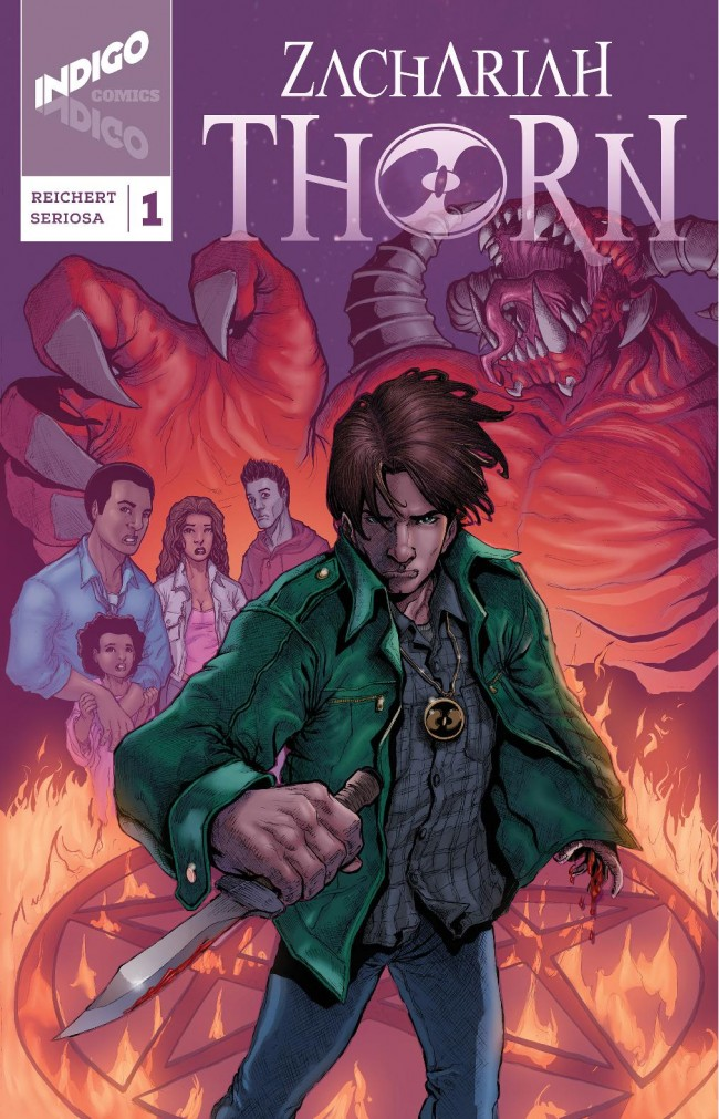 Zachariah Thorn #1 Cover