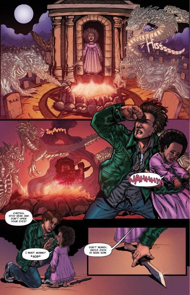 Zachariah Thorn #1 Page