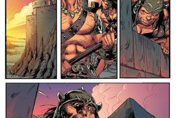 Red Sonja / Conan #3 Preview Page