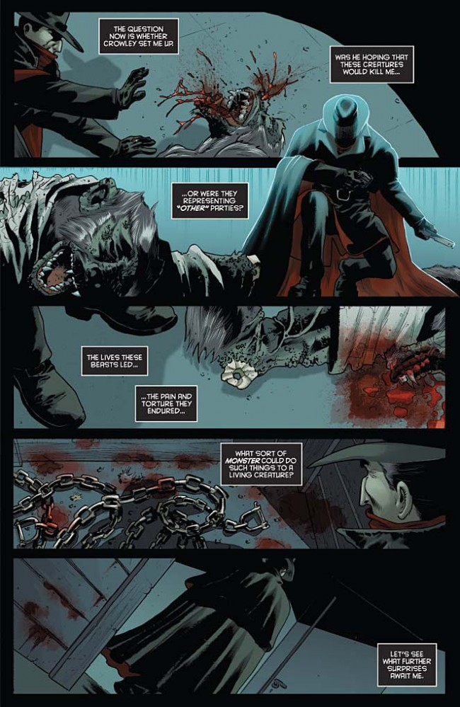 The Shadow Vol. 2 #3 Preview