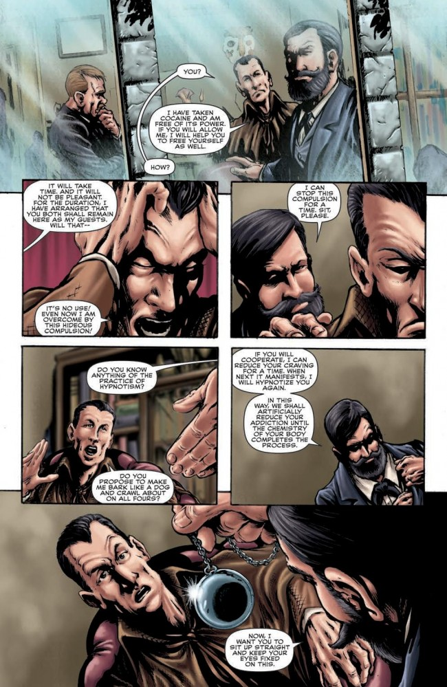 Seven-Per-Cent Solution #3 Preview Page