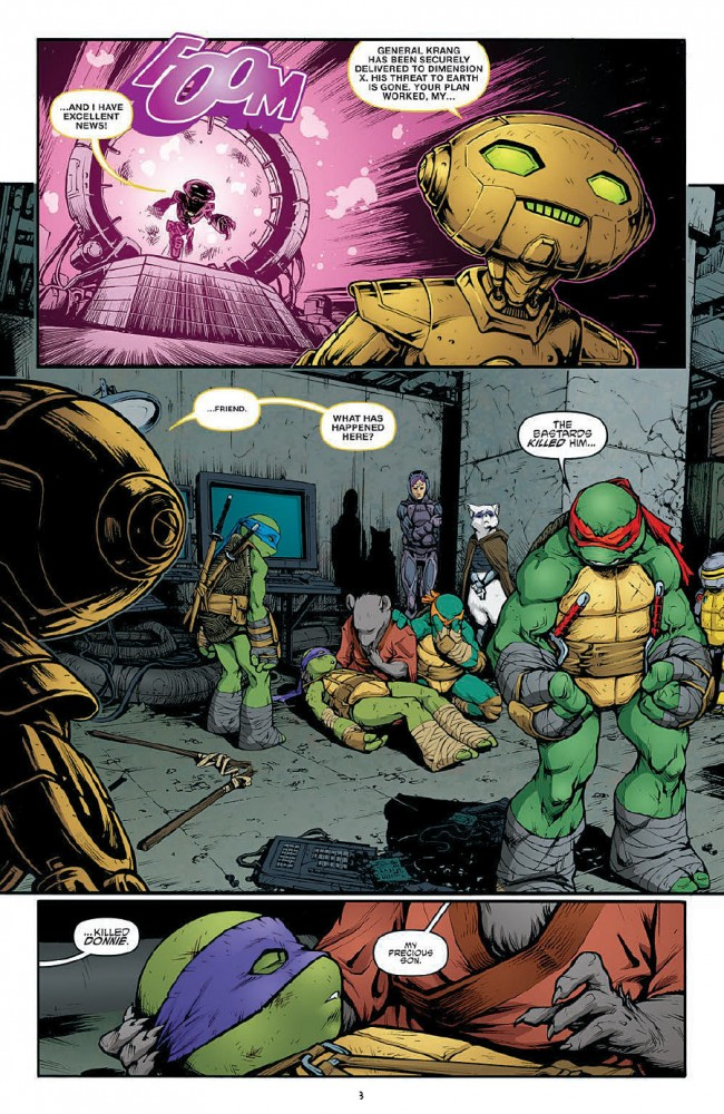 TMNT #45 Preview Page