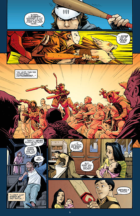 TMNT #47 Preview Page