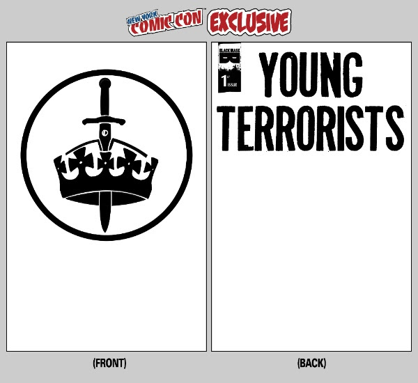 Young Terrorists #1 NYCC Sketch Cover