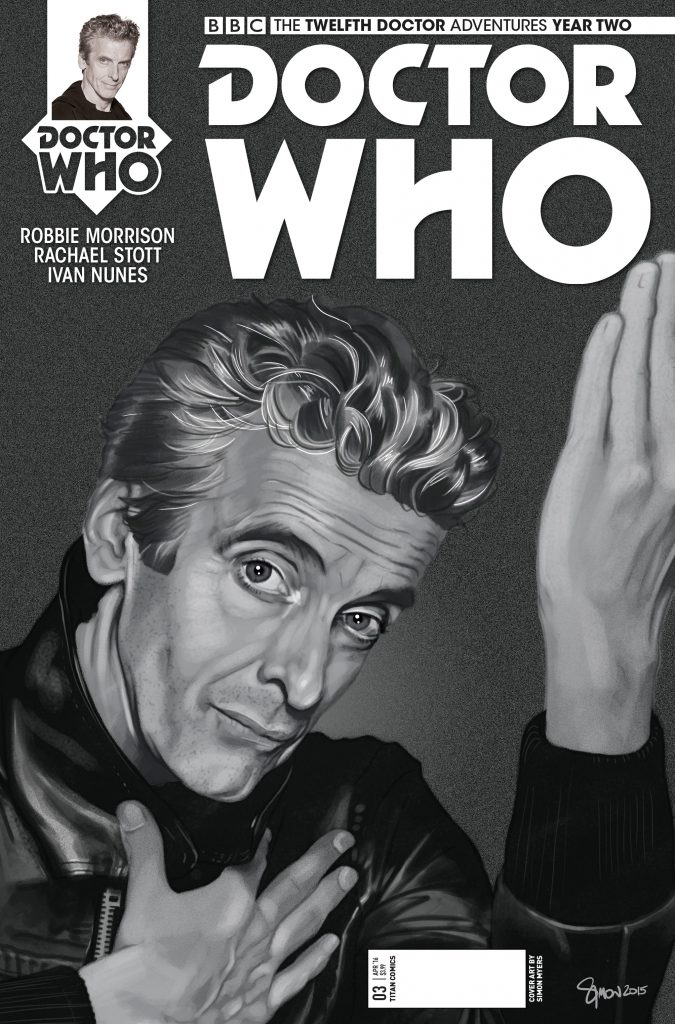 The Twelfth Doctor Year Two #3 David Bowie Variant Cover