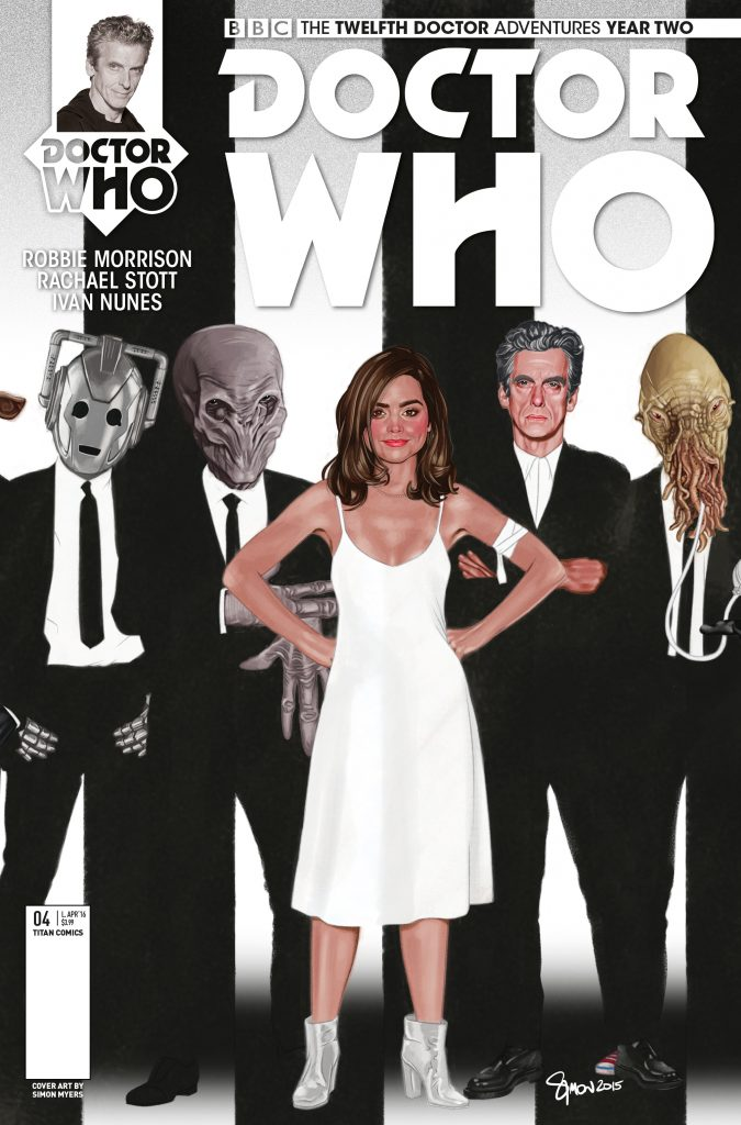 The Twelfth Doctor Year Two #4 Blondie Variant Cover