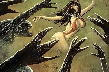 Aliens / Vampirella #3 Cover