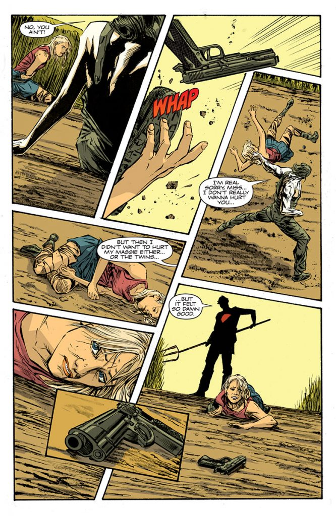 Bloodshot Reborn #8 Preview Page