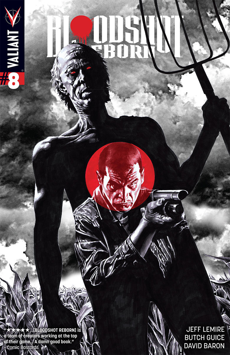 Bloodshot Reborn #8 Cover