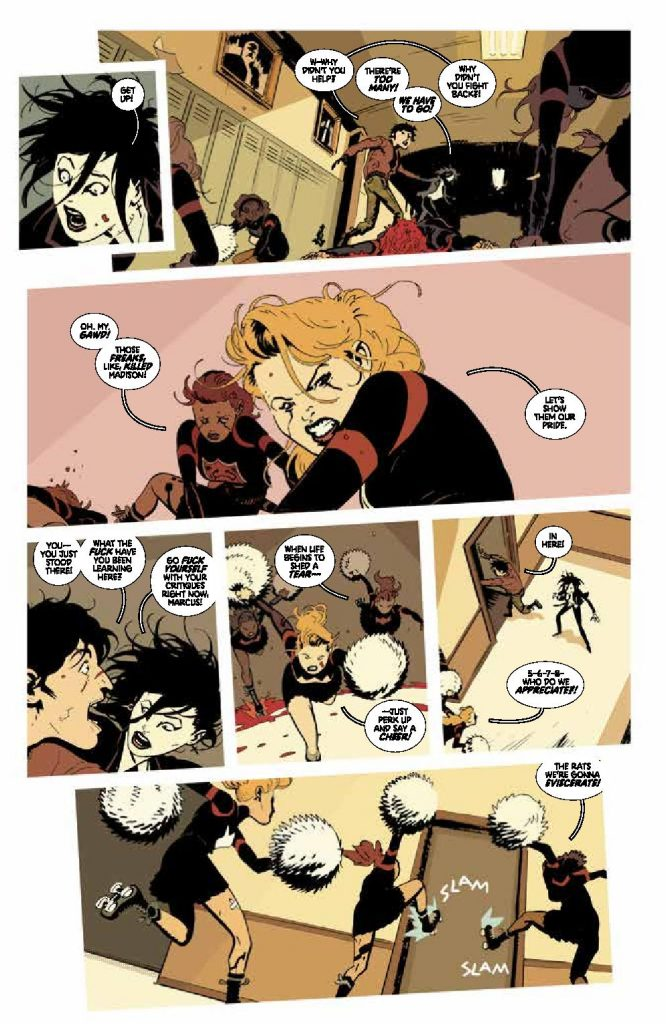 Deadly Class #17 Preview Page