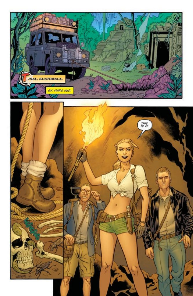 Danger Girl: Renegade #3 Preview Page
