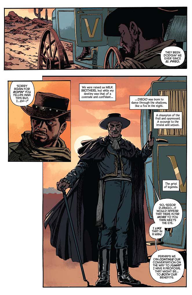 Django / Zorro Preview Page