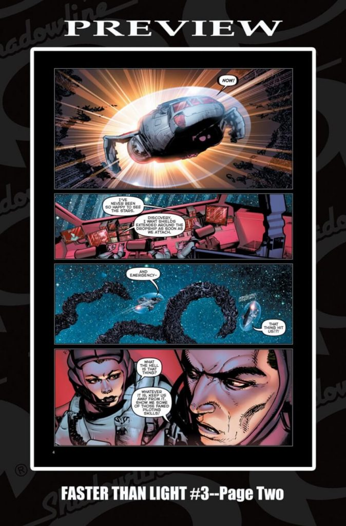 Faster Than Light #3 Preview Page