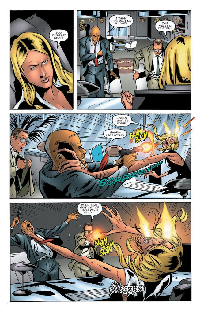 G.I. JOE A Real American Hero #219 Preview Page