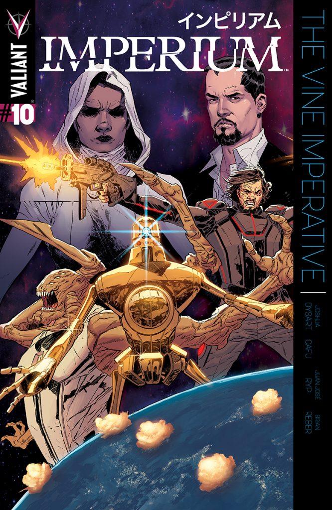Imperium #10 Cover