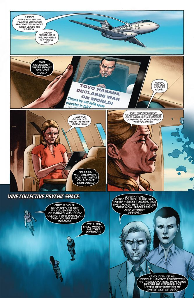 Imperium #10 Preview Page