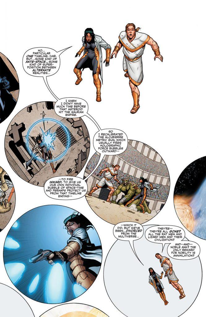 Ivar, Timewalker #11 Preview Page