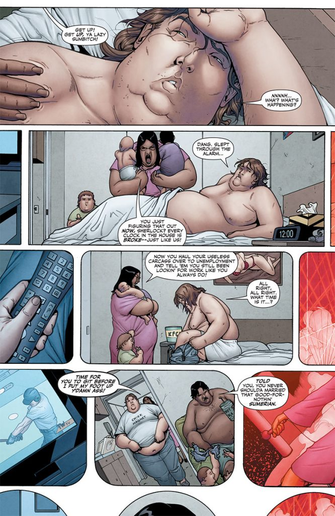 Ivar, Timewalker #11 Preview Page