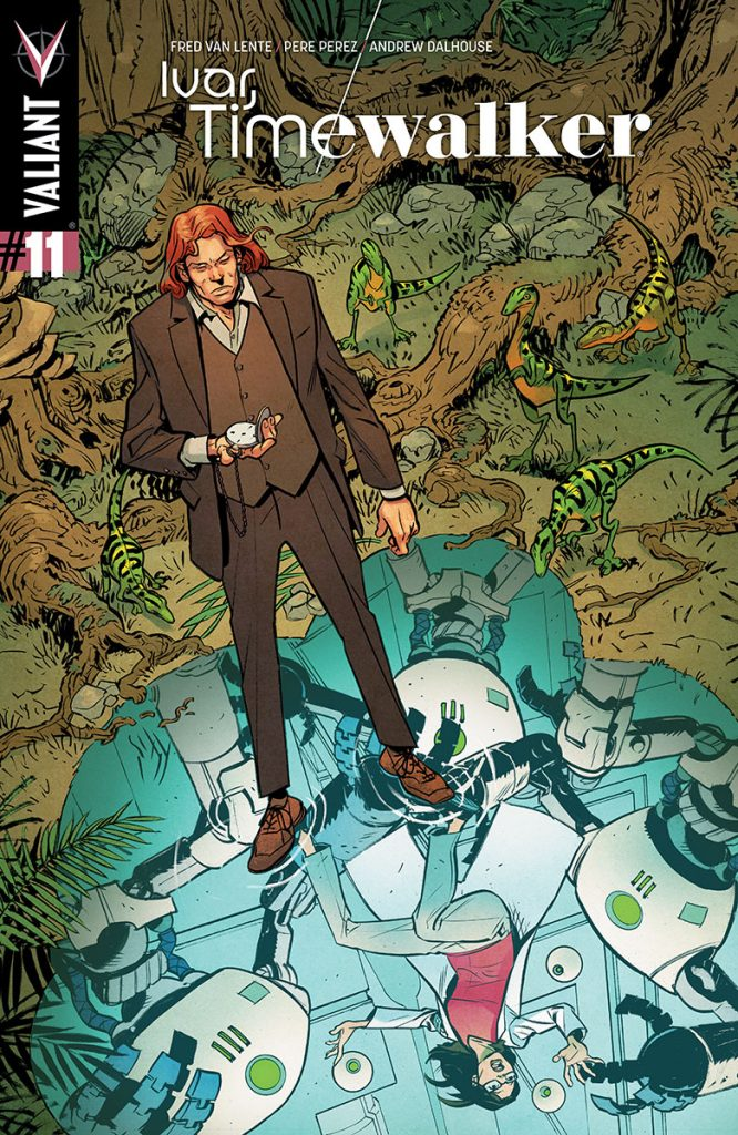 Ivar, Timewalker #11 Cover