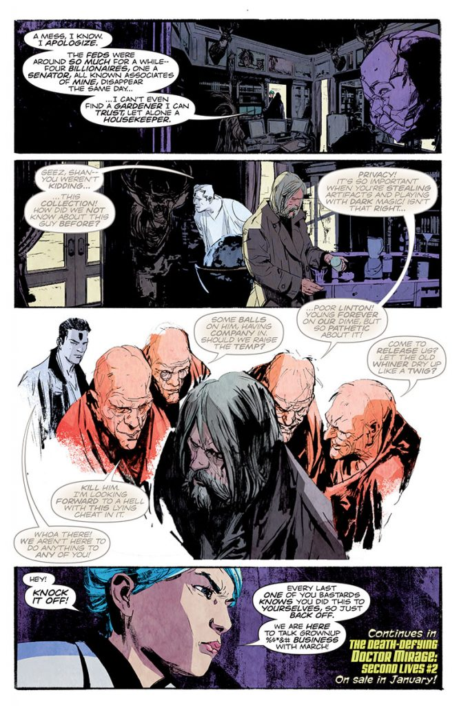 Death-Defying Doctor Mirage: Second Lives #2 Preview Page