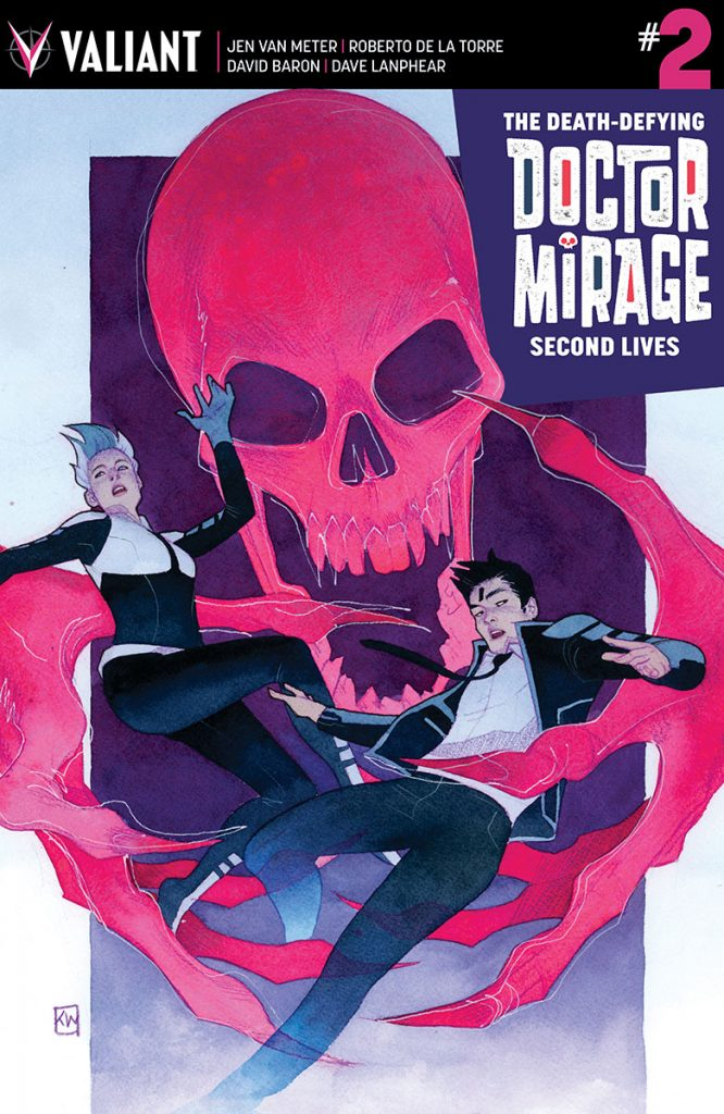 Death-Defying Doctor Mirage: Second Lives #2 Cover