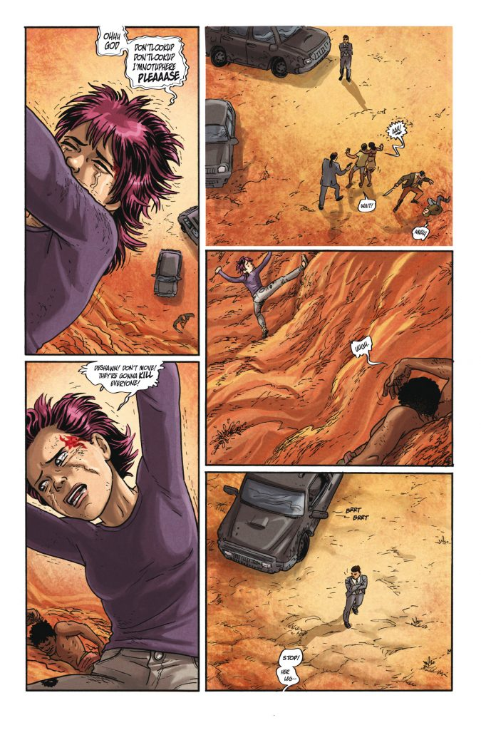 No Mercy #5 Preview Page