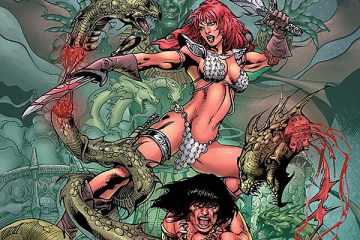Red Sonja / Conan #4 Cover