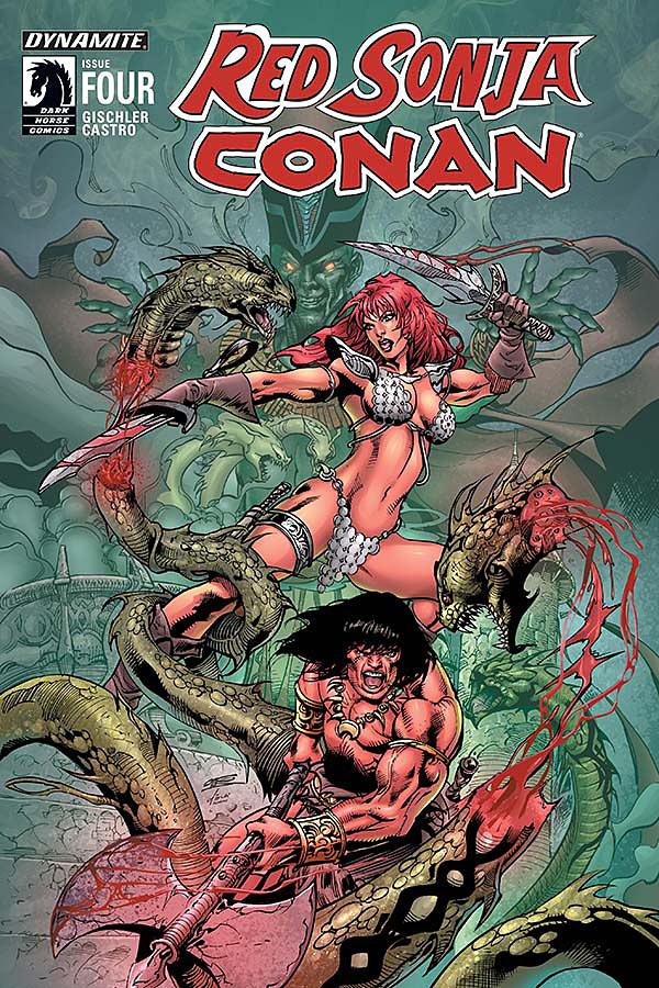 Red Sonja / Conan #4 Cover