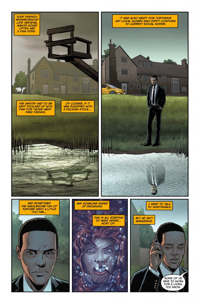 Rivers of London #5 Preview Page