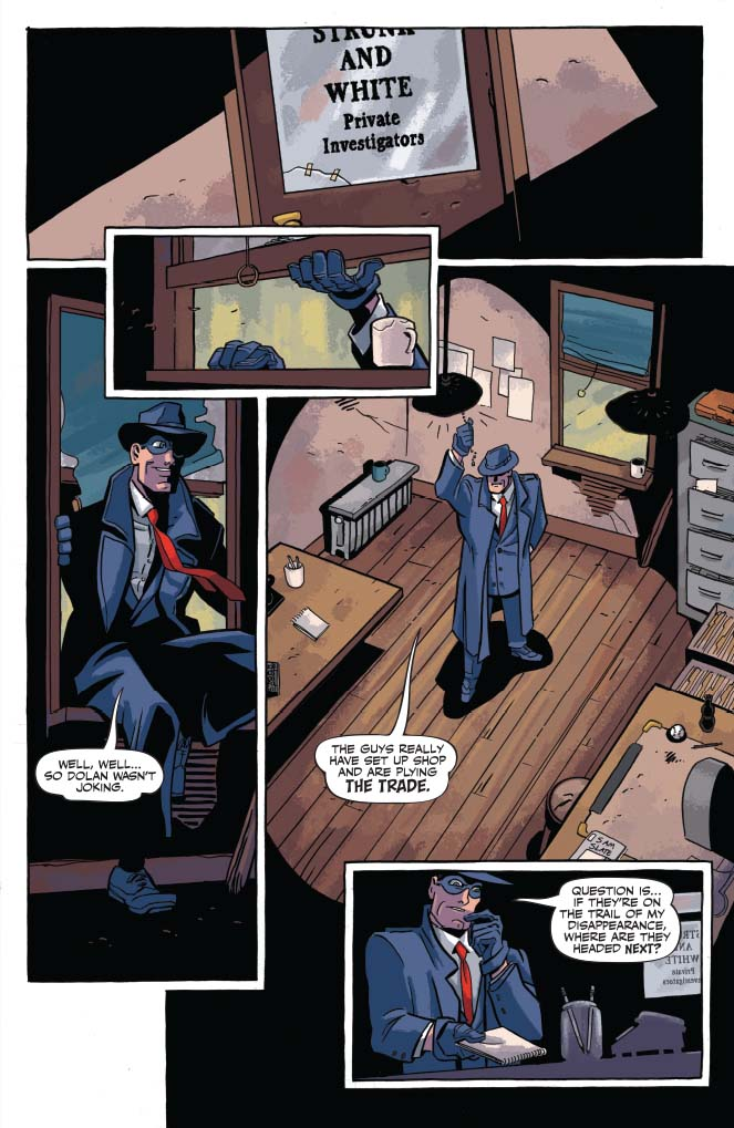 Will Eisner's The Spirit #5 Preview Page