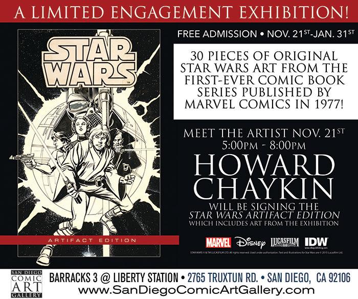 Star Wars Art Exhibit