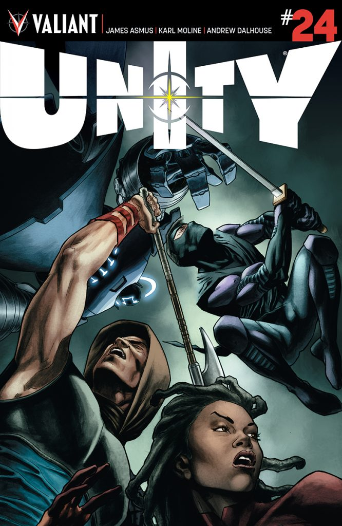 Unity #24 Cover