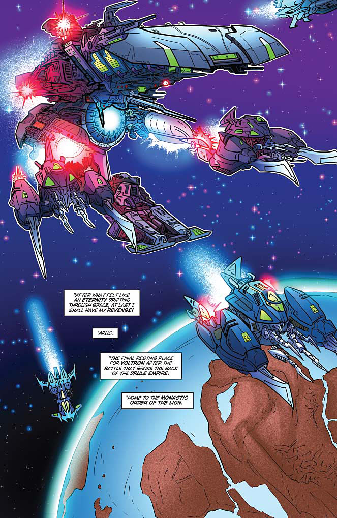 Voltron: From The Ashes #3 Preview Page