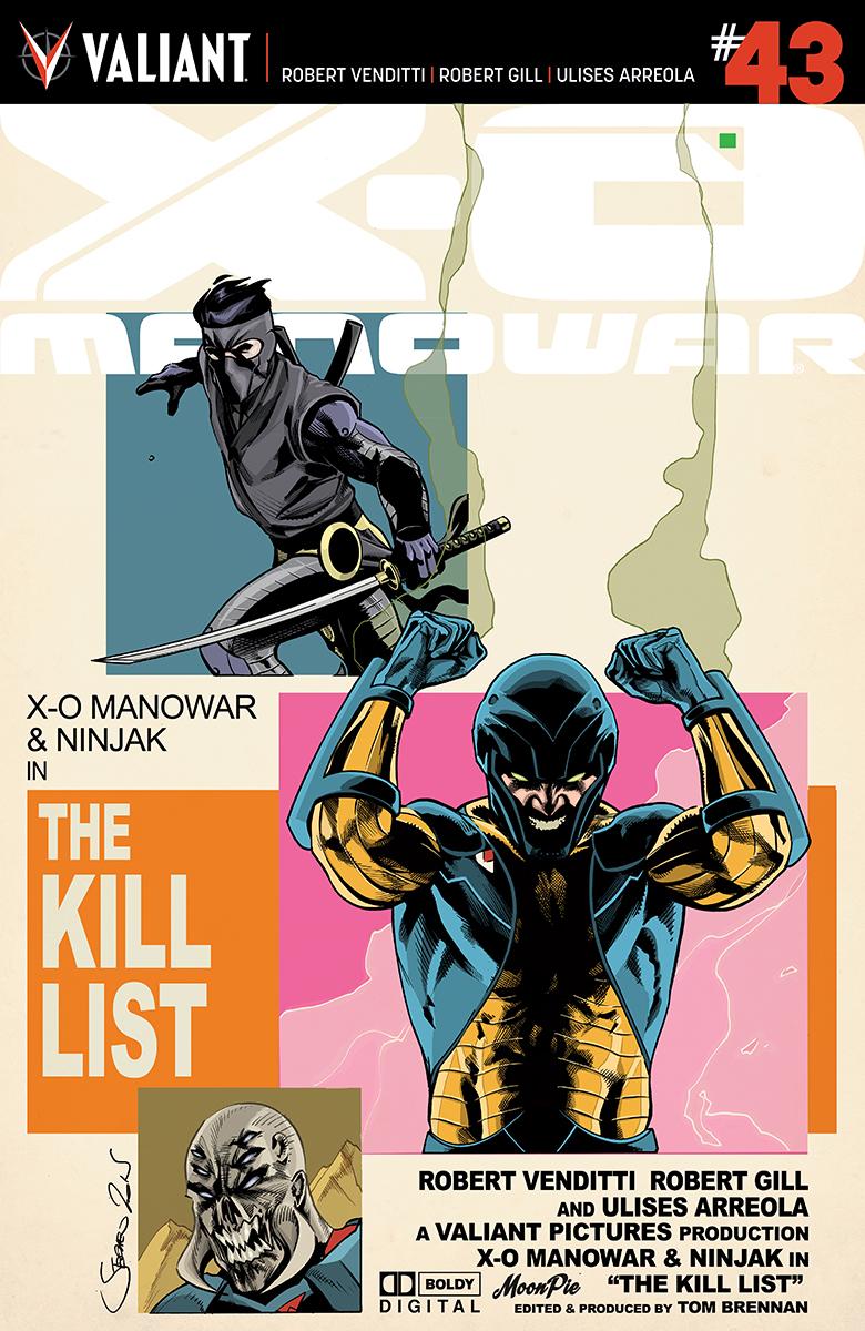 X-O Manowar #43 Cover