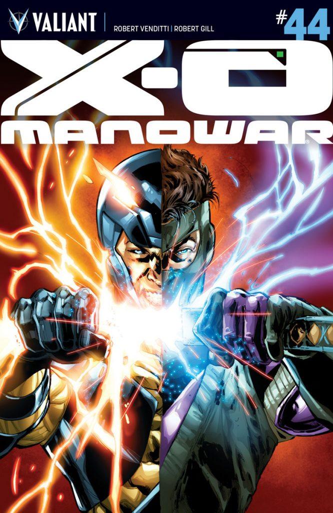 X-O Manowar #44 Cover