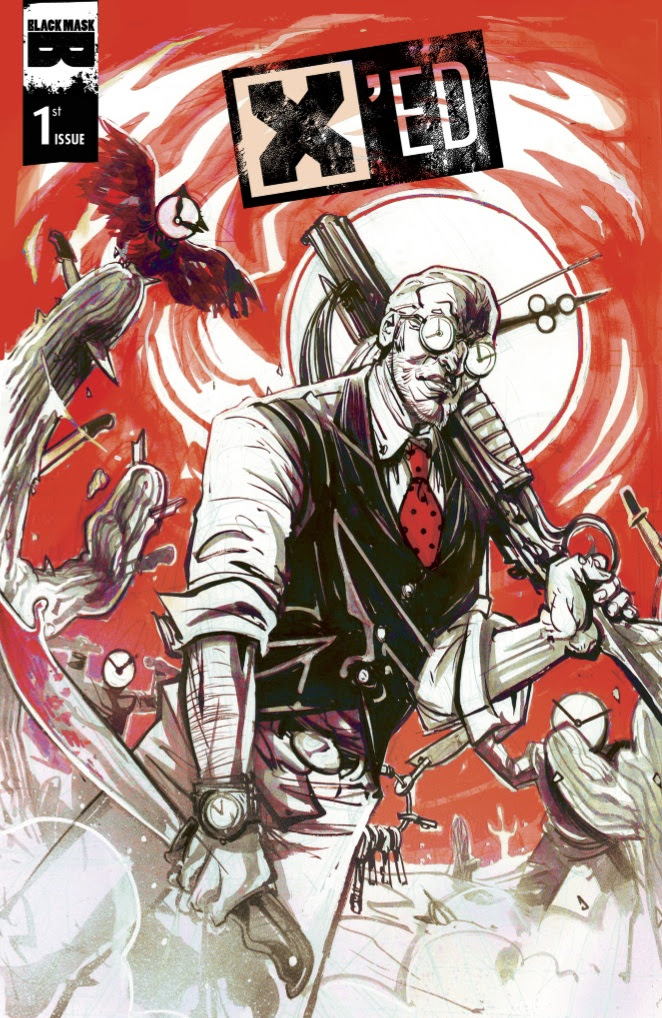 X'ED #1 Cover